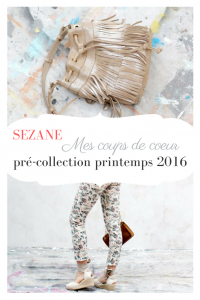 sezane pré-collection printemps 2016