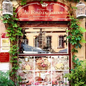 Strasbourg, Au fond du jardin, vitrine