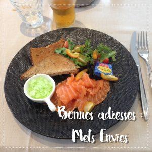 Bonnes adresses : Mets Envies, un petit restaurant situé à Hermonville à la cuisine bistronomique
