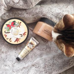 Collection Noël 2016 de The Body Shop : gamme Vanilla Chaï