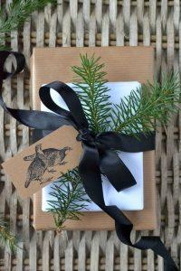 10 idées de paquets cadeaux trouvées sur Pinterest