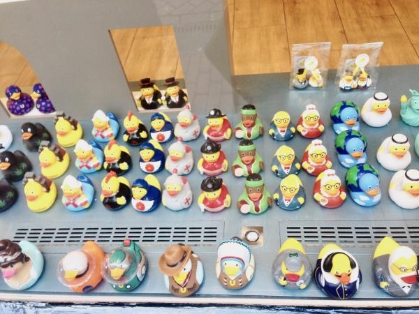 Amsterdam city break : boutique spécialisée dans les canards