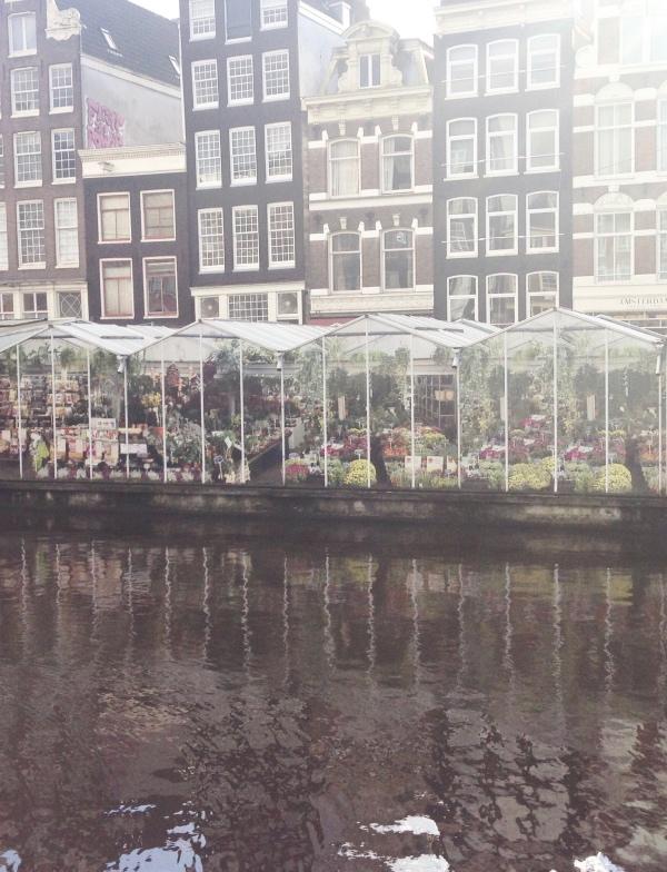 Amsterdam city break : marché aux fleurs