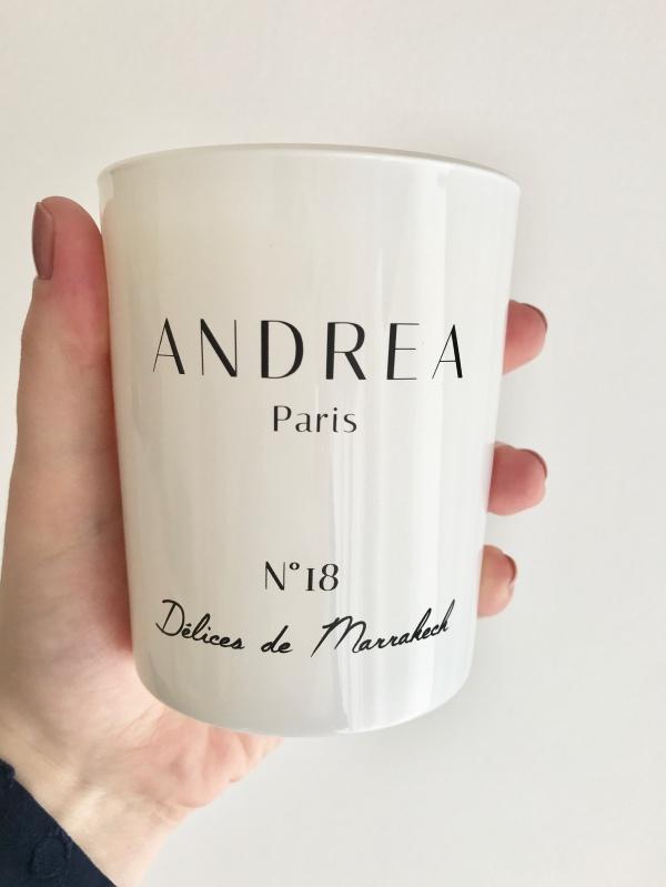 Bougies Andrea Paris : Délices de marrakech 05
