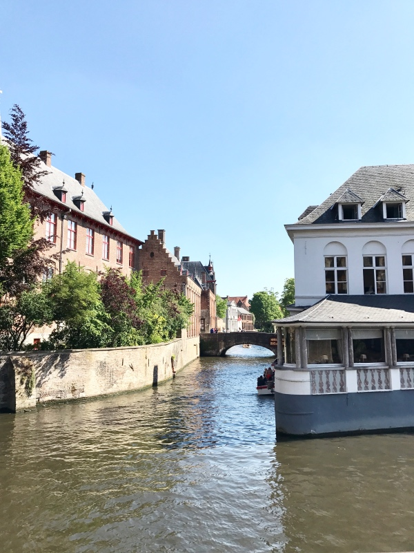 Bruges City Break Balade le long des canaux