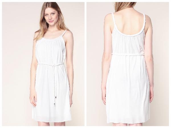 9 petites robes blanches parfaites pour l'été et à moins de 40 euros : robe vila