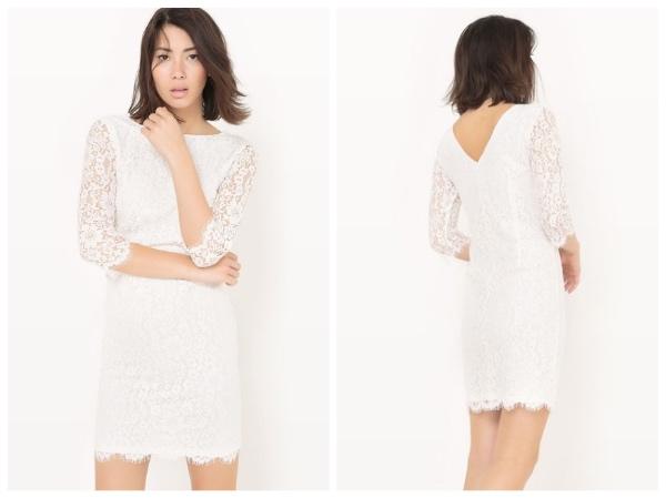 9 petites robes blanches parfaites pour l'été et à moins de 40 euros : robe en dentelle R Editions