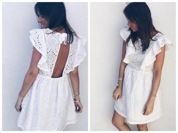 9 petites robes blanches parfaites pour l'été et à moins de 40 euros : robe Léonie Esayclothes