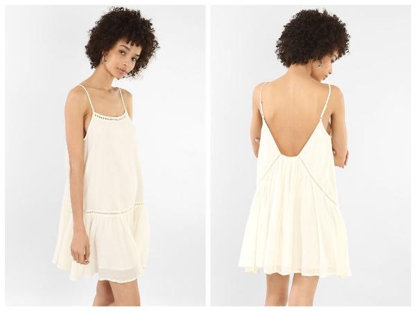 9 petites robes blanches parfaites pour l'été et à moins de 40 euros : robe volantée Pimkie
