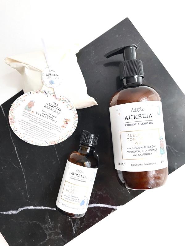Little Aurelia, les soins pour le bain