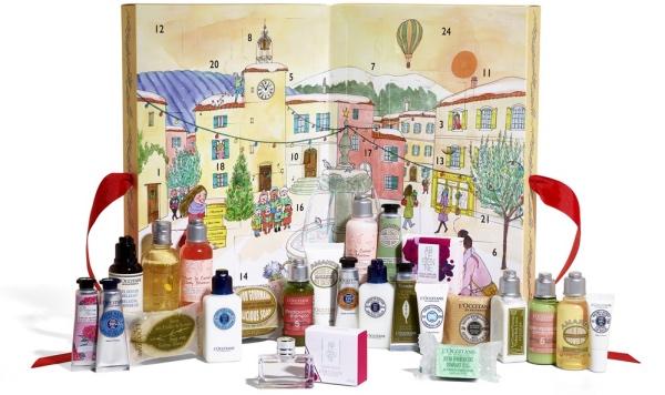 calendrier de l'avent 2017 l'occitane 2