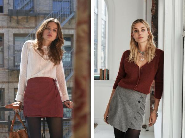 jupes collection Sézane automne 2017