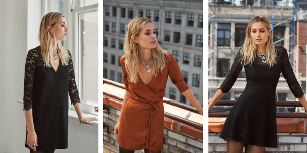 robes sézane collection automne 2017