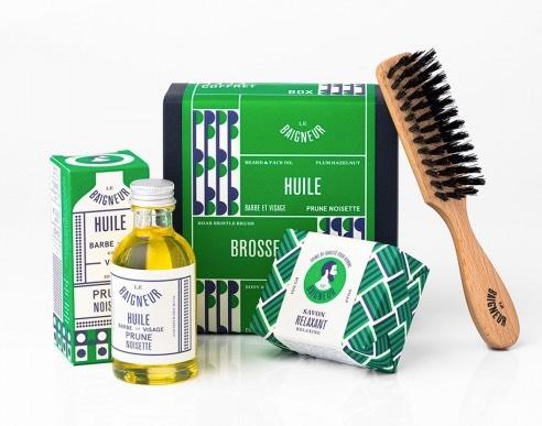 10 idées de cadeaux pour homme - coffret soin de barbe