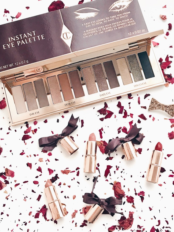 Instant eye palette mini lipstick Charlotte Tilbury