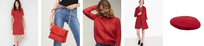 les tendances de la rentrée automne hiver 2018 - le rouge - blog mangue poudrée