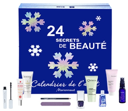Calendriers de l'avent 2018 - Blog Mangue Poudrée - Blog beauté, mode et lifestyle à Reims - Calendrier marionnaud marques exclusives 2018
