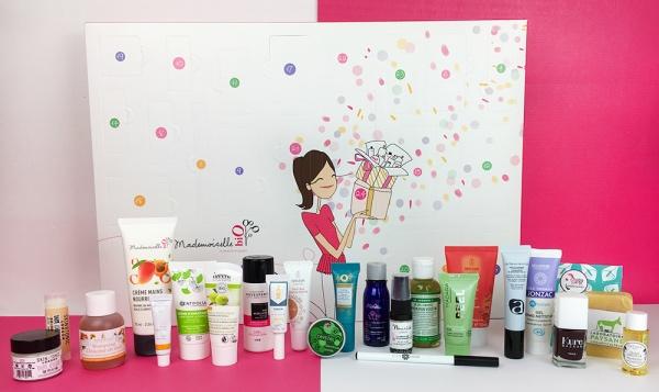 Calendriers de l'avent 2018 - Blog Mangue Poudrée - Blog beauté, mode et lifestyle à Reims - Calendrier mademoiselle bio 2018