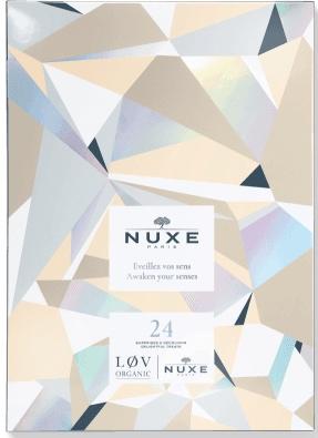 Calendriers de l'avent 2018 - Blog Mangue Poudrée - Blog beauté, mode et lifestyle à Reims - Calendrier nuxe x lov organic 2018