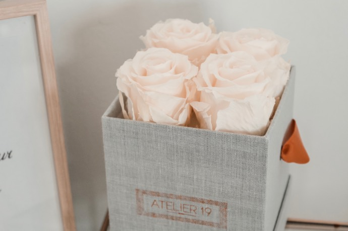 Avis Atelier 19 bouquet de roses éternelles préservées - Blog Mangue Poudrée, Blog beauté mode et lifestyle à Reims - Blogueuse Instagrammeuse - 06