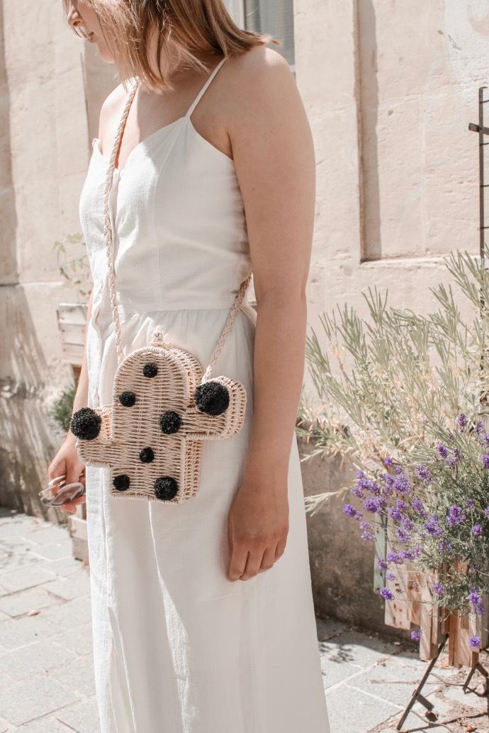 Must have été 2019 robe longue en lin blanche espadrilles castaner - Blog Mangue Poudrée - Blog beauté et mode à reims blogueuse influenceuse instragrammeuse - 07