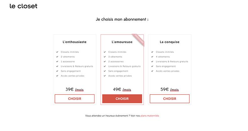 Avis Le Closet louer ses vetements dressin infini et eco-responsable - Blog Mangue Poudrée - Blog mode et lifestyle à reims influenceuse - 06