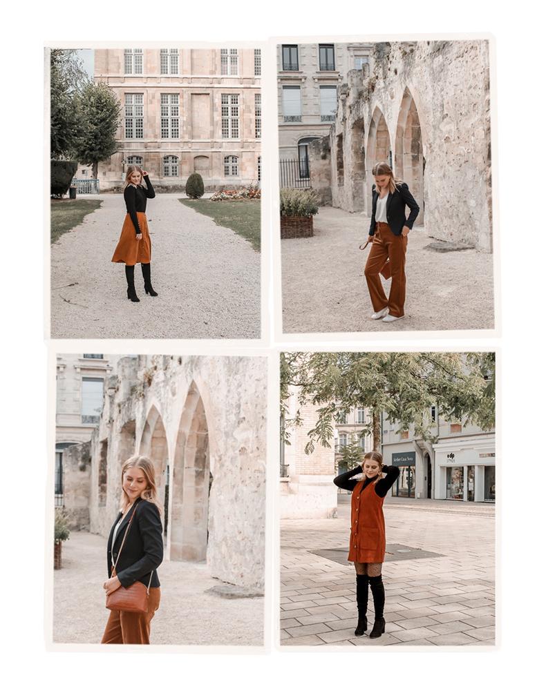 Comment porter le velours côtelé ? - 3 façons de porter le velours côtelé en automne avec 3 idées de looks facile à reproduire - Blog Mangue Poudrée - Blog mode et lifestyle à Reims influenceuse - 31