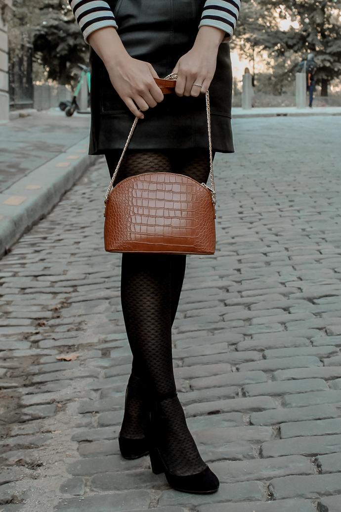 Mon look d'automne à Paris rue de l'université 8eme - Blog Mangue Poudrée - Blog mode et lifestyle à Reims influenceuse - 06