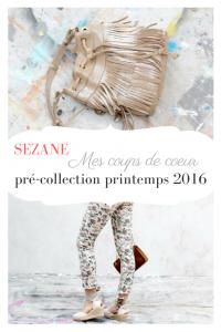 sezane pré-collection printemps 2016