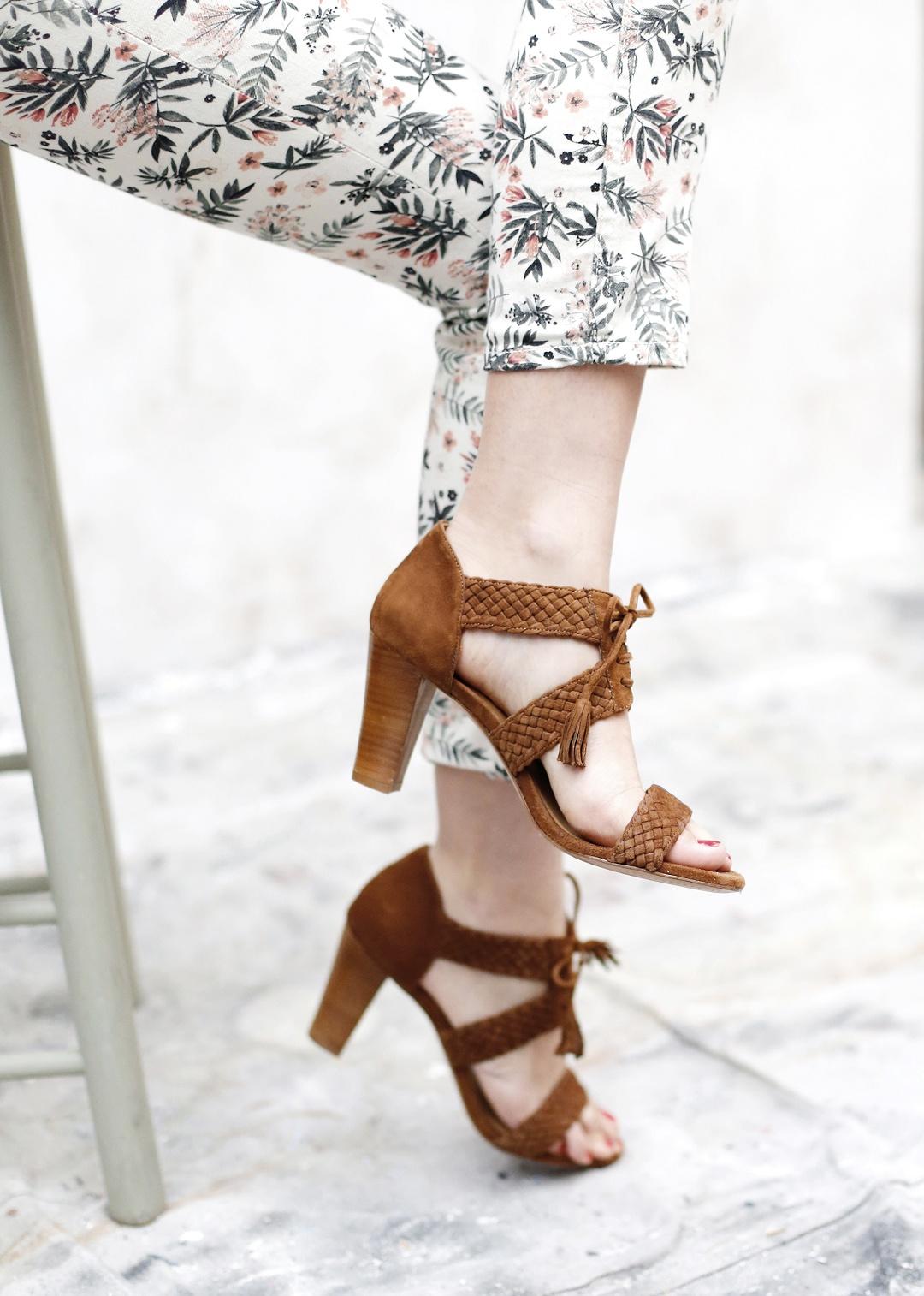 sezane - sandales hight andrea