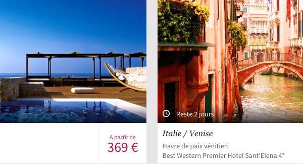 Des vacances 4 étoiles avec voyage-privé.com