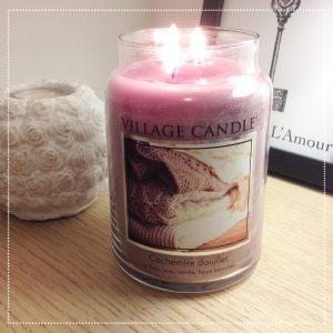 bougie village candle cachemire douillet