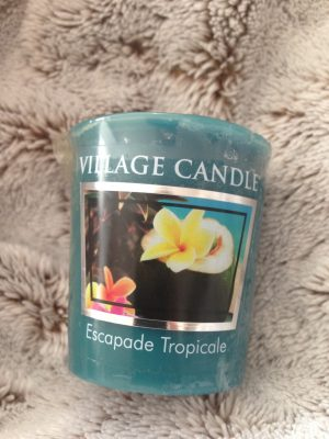 Bougie village candle escapade tropicale