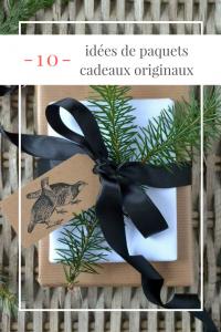 10 idées paquets cadeau