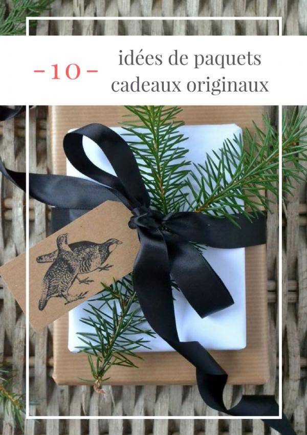 Pinterest : 10 idées de paquets cadeaux originaux