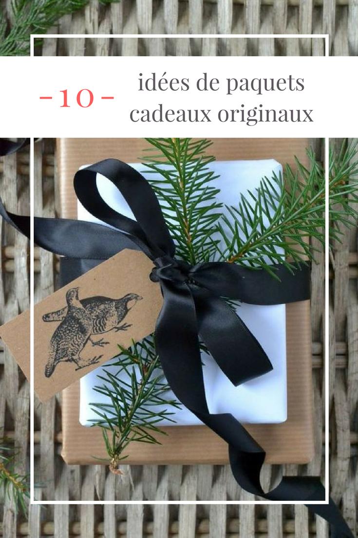 Decoration De Paquets Cadeaux pinterest : 10 idées de paquets cadeaux originaux - mangue