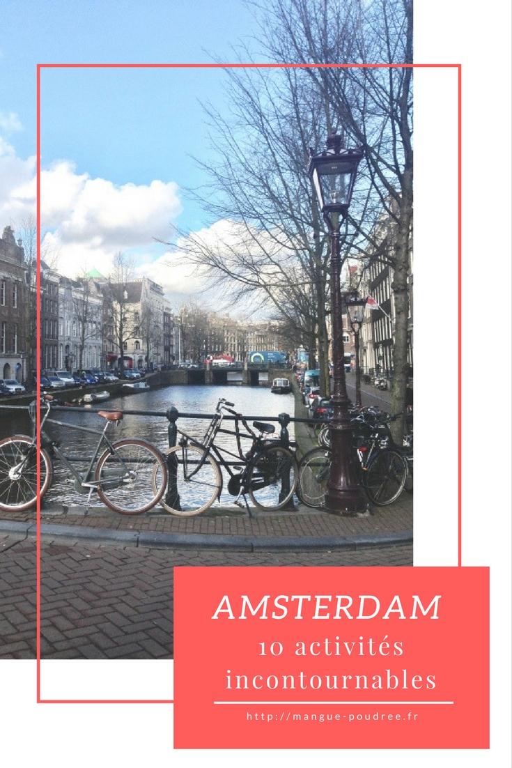 city break Amsterdam : 10 activités incontournables