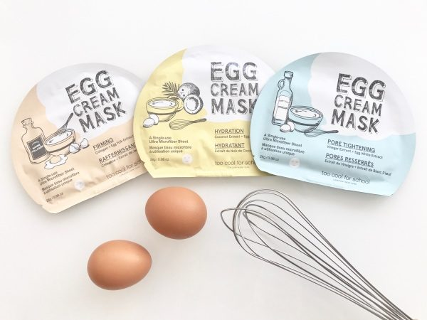 "Too cool for school : des masques pas si ""eggs-traordinaires"""