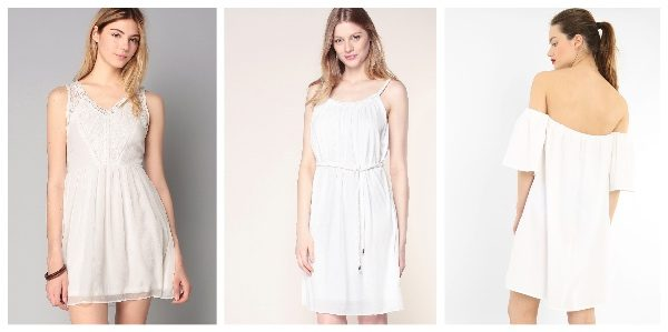 9 petites robes blanches