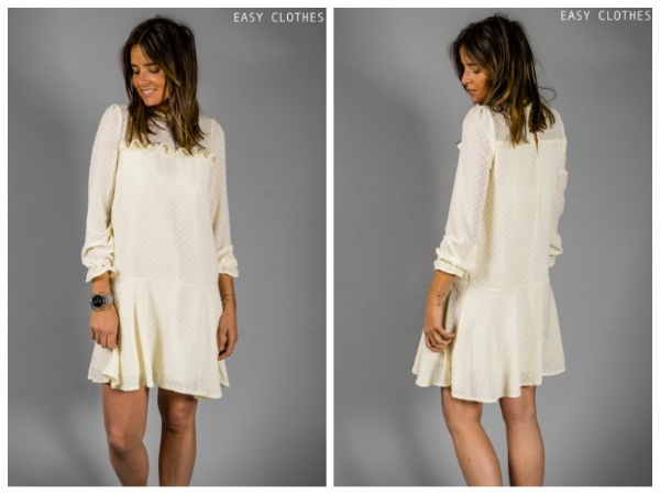 9 petites robes blanches parfaites pour l'été et à moins de 40 euros : robe bird Easyclothes