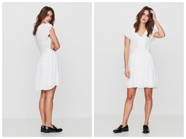 9 petites robes blanches parfaites pour l'été et à moins de 40 euros : robe vero moda