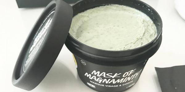 Mask of magnaminty de Lush : mon instant frais et gourmand