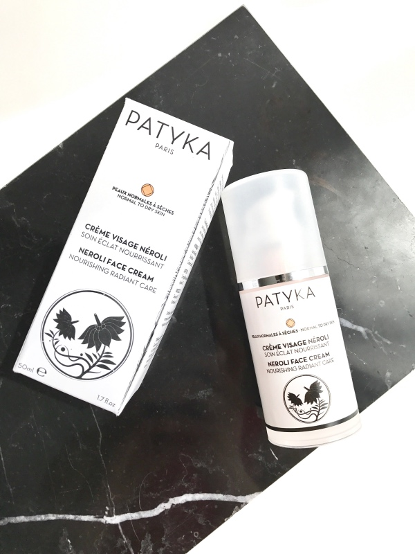crème visage néroli de Patyka