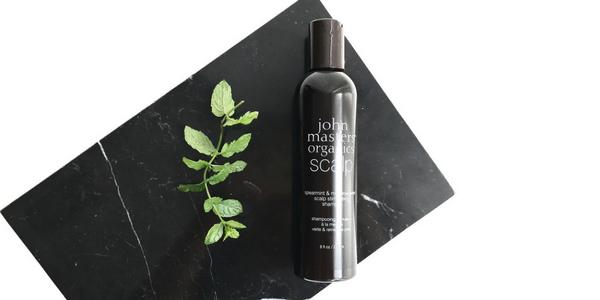 shampooing stimulant à la menthe verte JMO