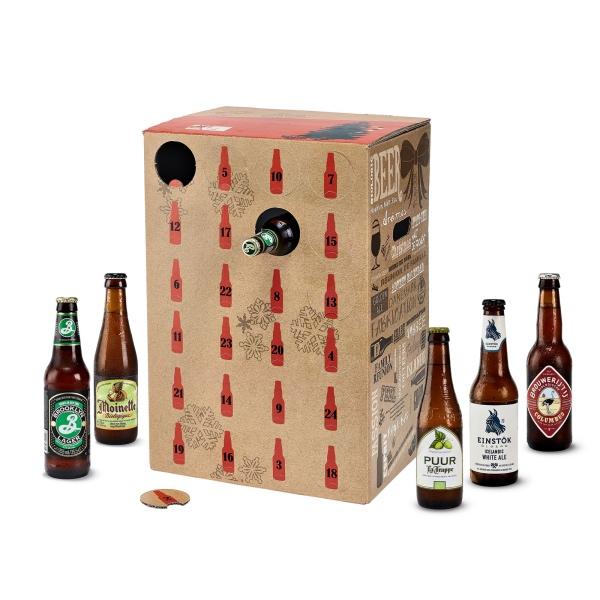 calendriers de l'avent 2017 nature et découvertes bières