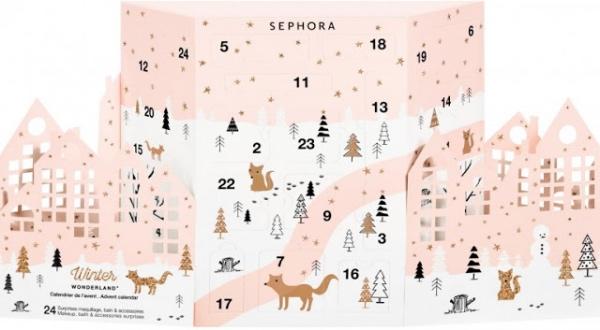calendriers de l'avent 2017 sephora