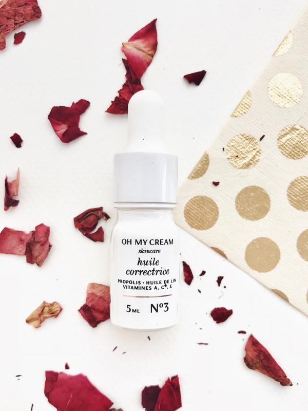 Routine Oh My Cream Skincare huile repulpante
