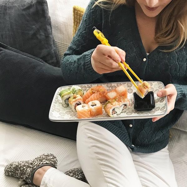soirée cozy côté sushi allo resto by just eat