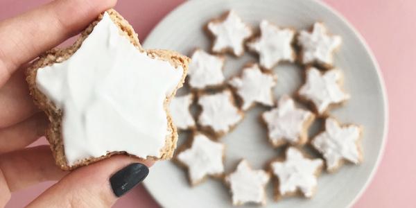 Etoiles à la cannelle ou Bredele de Noël (petits biscuits alsaciens)