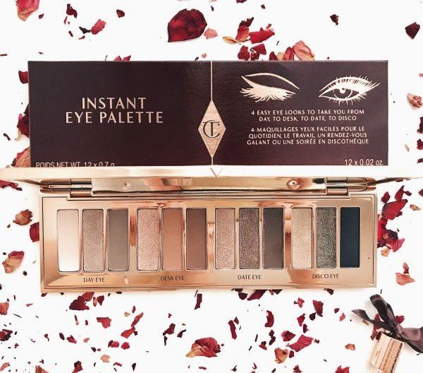 Totalement conquise par l'instant eye palette de Charlotte Tilbury ♥